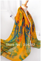 Wholesale hot selling women printe cashew floral Bohemia scarf shawls cotton voile muslim hijab scarves