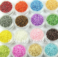 Crystal   1000pcs 3mm 15 colors can choose Fashion Charms DIY Loose Spacer Czech glass Seed bead garment accessories and jewelry findings
