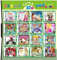 Wholesale Girl s favorite games Up to V for ds GB cheap video multi games Card with different games in one fiche for NDSL DS DS DSi XL