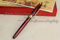 Wholesale JINHAO Deep Red metal Gel Pen Sign Pen Roller ball Pen Marker Pen hot