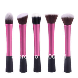 Wholesale Free shopping Professional Powder Blush Brush Facial Care Facial Beauty Cosmetic Stipple Foundation Brush Makeup Tool