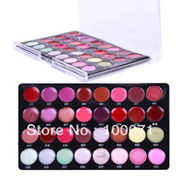 Wholesale 2013 New Pro Mini Color Cosmetic Lip Lipsticks Gloss Makeup Palette Set kit