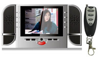 Wholesale NEW P IR Clock Camera Remote Spy Hidden Cam Motion Voice Activate DVR w inch LCD Screen