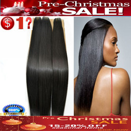 Wholesale 30 OFF Pre Christmas SALE Virgin Brazilian Remy Hair Weave Sliky Straight Brazilian Hair Bundles Guaranteed Grade A Accept Returns