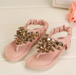 Wholesale 2013 Kids sandals shoes sandals Rose Rhinestone Butterfly Festival female shoes TT