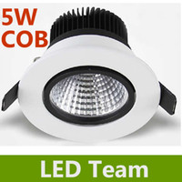 Wholesale CE ROHS Years Warranty Epistar COB W LM Led Fixture Ceiling Light Warm White Led Down Light V Including power supply freeship