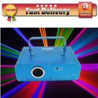 Auto strobe laser show equipment - Annual promotion mW RGB Cartoon Animation amp Beam Laser Light Show ILDA DMX laser show system dj equipment