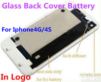 Wholesale High Quality Glass Back Cover Battery Door Housing Replacement For Iphone S G Repair Parts