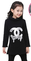 Wholesale Children s clothes children fall girls fleece and wool with thick winter clothing new ZhongTong big child fleece render unlined upper
