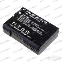 Wholesale LLFA3442 High capacity mAh V Li ion Battery for Nikon EN EL14 Digital Camera Camcorder COOLPIX P7000
