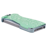 Wholesale Trendy LightGreen Cell Phone Case Cool Lady Style Cheongsam Shape Phone Protection Shell Phone Cover For iPhone4S IPT3