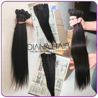 Straight Malaysian Hair machine Straight brazilian virgin hair weave,brazilian Remy Human Weft Extensions 4pcs lot Mix Bundles,can be bleach &dyed Free Shipping