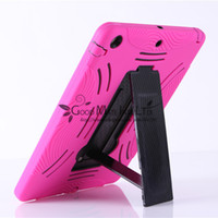 Wholesale For Apple iPad Air th Gen Rugged Armor Robotic Hybrid Case Built in Kick Stand Colors