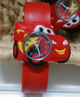 Wholesale 60pcs Cute Animals Superheros Minions Birds Cars Kids Favorite Silicone Slap Watch Bracelet Spiderman Batman Bee Duck Rubber Band Wristwatch