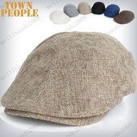 Wholesale Summer Peaked Beret hat Newsboy Visor Hat Cap Cabbie beret Gatsby Flat Cap flax Hat MYY7215
