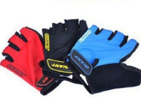 Wholesale 3pairs Giant Bicycle Bike Half FingerGloves MTB Cycling Motorcycle Racing Silicone The Mountain Sports Gloves