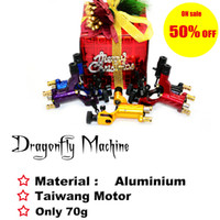 Wholesale Dragonfly rotary tattoo machine Christmas Day ON SALE
