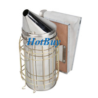 beekeeping equipment - Bee Hive Smoker Stainless Steel with Heat Shield Beekeeping Tool Equipment