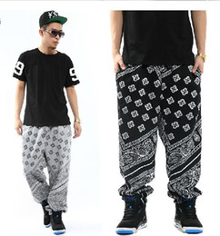 Wholesale La bandana ktz west cashew flowers hip hop casual pants casual pants trousers