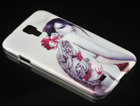 For Samsung Plastic Yes White Beautiful Naked Woman Tattoo Thin Hard Plastic Case for Samsung Galaxy SIII S3 I9300 Free Shipping New