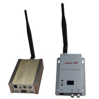 Transmitter & Receiver wireless video transmitter receiver - 1 GHz mW channels long range wireless audio video transmitter and receiver