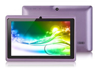 Wholesale Ultrathin Q88 inch A23 Tablet PC With Android AllWinner A23 Ghz MB Ram GB WIFI Dual Camera MID Colors In Stock