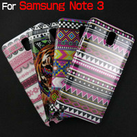 For Samsung Plastic For Christmas For Samsung Note 3 Case Stylish Aztec Tribe Retro Vintage Tribal Case Cover Snap On Phone Cases Free Shipping