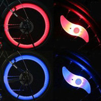 Wholesale bicycle light Wheel light LED Light Lamp Bike Bicycle Cycling Wheel Spoke Tire Wire Tyre Bright LED Light Lamp
