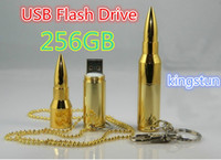 Yes USB 2.0 Metal Wholesale-kingstun bullet usb flash drive disk stick pendrive 256GB USB FLASH DRIVE USB Disk Flash