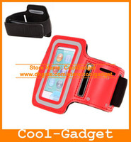 Wholesale Adjustable Arm band Sport Armband Running Gym Strap Cover Case Holder for Apple iPod Nano Nano7 IPN7C06