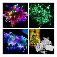 Christmas led fairy lights - Popular New M LED Colors Energy String Fairy Lights Warterproof Party Holiday Christmas Garden Outdoor