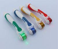50pcs lot LED derma roller, 540 MICRO needle derma roller, de...
