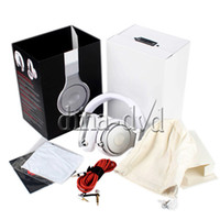 Wholesale Professional Stereo DJ Headphone High Performance Over Ear Headset with Retail Box Black Silver White Silver