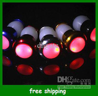 Wholesale Popular Bicycle Handlebar Lamp Turn signal Red Warning Light color Bike Cycling Lamps Free Shpping