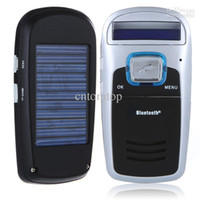 Wholesale Solar Powered Bluetooth Car MP3 Car MP3 Player Car Cell Phone Kit Handsfree K343
