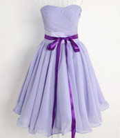 Real Photos Strapless Chiffon In Stock Cheap NEW Short Mini Sexy Cocktail Dresses Strapless Chiffon Prom Homecoming Party Bridesmaid Dresses Special Occasion Dresses