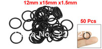 Wholesale 50 Black Nitrile Rubber O Rings NBR Seal Grommets mm x mm x mm
