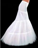 100% Polyester accessories mermaids - White Hoop Wedding amp Events Fishtail Mermaid Wedding Dress Bridal Petticoat Crinoline petticoats Underskirt Bridal Accessories