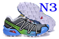 Wholesale GIFT New Arrival Women s Salomon Running Shoes Salomon Speed Cross Athletic shoes Training Sports Shoes EUR36 Factory Price