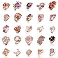 Wholesale Special Orders Customized Tailor made Order Big Order of KGP Gold Plated Rings
