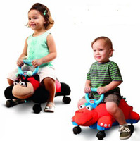 Wholesale original Children s car doll step driving step children help car taxi ride two models driving