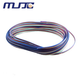 50Meters RGB Strip Connecting Wire UL1007 22AWG Extension Cord to connector 5050 RGB LED Strip Light