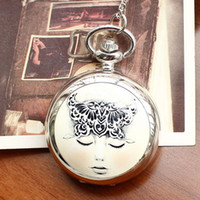 Wholesale dropship hot sale fashion Dream Girl Ceramic Pocket watch cartoon for women ladies children
