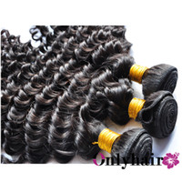 Peruvian Hair Curly Mix 12''-30'' Peruvian Virgin Hair Weave Weft Deep Wave Can Be Bleached Can Be Dyed 4pcs Hair Bundles Free Shipping