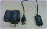 Wholesale Wall Charger OR USB Charger for Electronic Cigarette E cigarette E cig Ego t Ego Adapter Kits