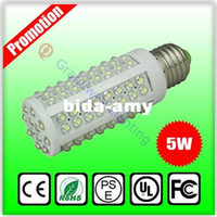 Wholesale E27 W led bulb corn light Epistar leds LM angle AC110V V DC12V V
