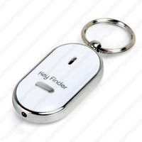 Wholesale A2 LED Key Finder Locator Find Lost Keys Chain Keychain Whistle Sound Control Worldwide