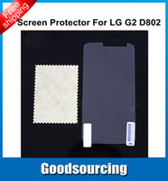 Wholesale High Clear Screen Protector for LG Optimus G2 LG D802 D802TA D803 Screen Protective Film