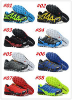 Wholesale 8 Colours New Style Salomon Running Shoes FELLCROSS Mens Sport Shoes Size Free Gift