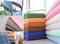 Wholesale Bathroom Towels Microfiber cm Inch Color Quick Drying Health Bath Towel Soft Furnishings